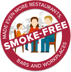 Made Even More Restaurants, Bars, and Workplaces Smoke Free