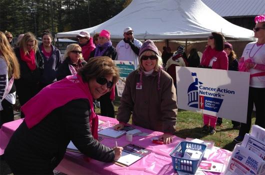 Image of Making Strides Against Breast Cancer Volunteers