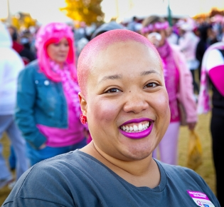 Photo of Making Strides Against Breast Cancer Event Participant